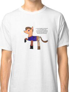 Nathan pony fillion Classic T-Shirt