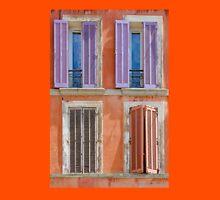 Vintage Windows of Saint Tropez - French Riviera T-Shirt