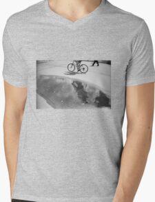 Cloud bicycle Mens V-Neck T-Shirt