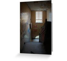 Stairwell To Hell Greeting Card