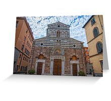 Church Of San Giusto Greeting Card