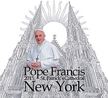 Pope Francis New York Visit 2015 by Garaga
