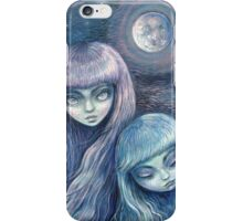 Sisters of the Moon iPhone Case/Skin