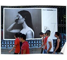 On the streets with Photo Espana 2010 Poster