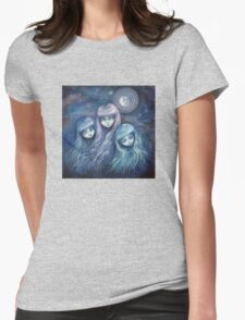 Sisters of the Moon Womens Fitted T-Shirt