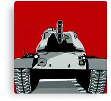Tank U Very Much Canvas Print