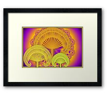 Golden Bower III Framed Print
