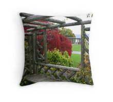 Picture Window Throw Pillow