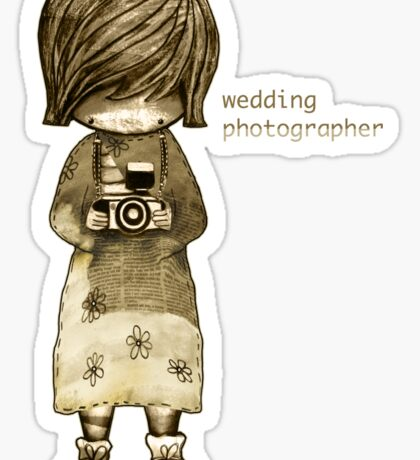 smile baby wedding photographer  Sticker