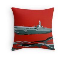 Submarine Sandwhich Throw Pillow
