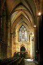 Inside York Minster by Christine Smith