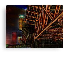 Bridge in Portland Oregon Canvas Print