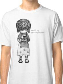Smile Baby Wedding Photographer  Classic T-Shirt