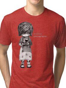Smile Baby Wedding Photographer  Tri-blend T-Shirt