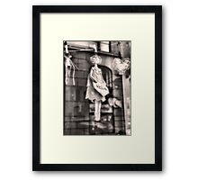 Welcome Doll Framed Print
