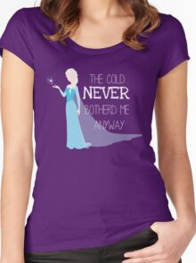 Cold Women's Fitted Scoop T-Shirt