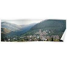 The hills of Sant Andrea Di Compito Poster