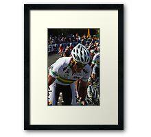 Simon Gerrans Framed Print