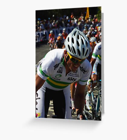 Simon Gerrans Greeting Card