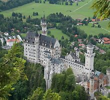Neuschwanstein by Susan Carter