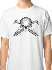 Skull and Cutting Torches Classic T-Shirt
