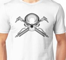Skull and Cutting Torches Unisex T-Shirt