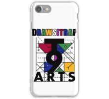 """DRAWSITRAP""The Message by tweek9arts - Black/White Colorway iPhone Case/Skin"