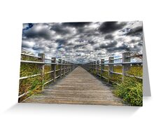Silver Sands Beach Greeting Card