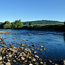 River Lune  from The Black Bull Beck by mikebov