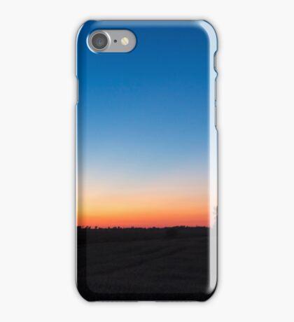 Dusk in eastern Ontario iPhone Case/Skin