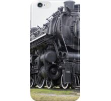 Steam locomotive on display iPhone Case/Skin