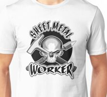 Sheet Metal: Fabricator Skull Unisex T-Shirt