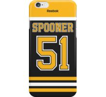 Boston Bruins Ryan Spooner Jersey Back Phone Case iPhone Case/Skin