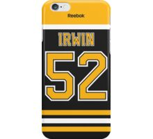 Boston Bruins Matt Irwin Jersey Back Phone Case iPhone Case/Skin