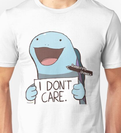 Quagsire's Unaware Activated Unisex T-Shirt