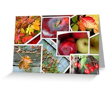 Autumn's Collage of Beauty ©  Greeting Card
