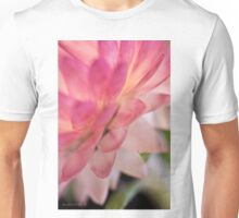 Straw Flower Macro Unisex T-Shirt