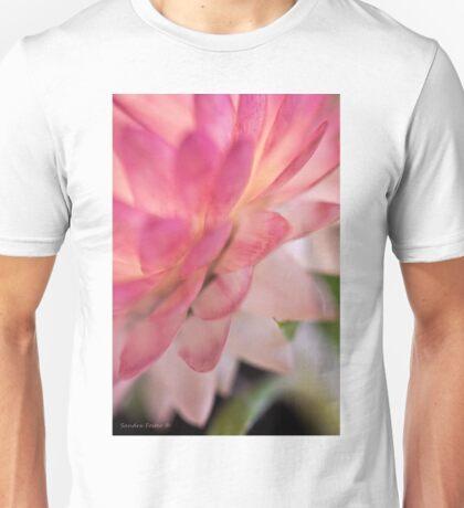 Straw Flower Macro Unisex T-Shirt