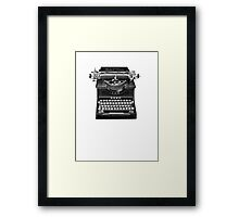 The Madison Review Typewriter Framed Print