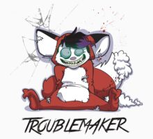 Troublemaker (Child Size) Kids Tee