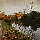 autumn on the canal by janetlee