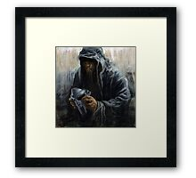 Faceless DOOM Framed Print