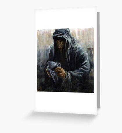 Faceless DOOM Greeting Card