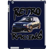 Retro racing 5 iPad Case/Skin