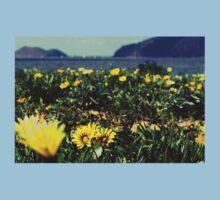 Seaside Flowers Baby Tee