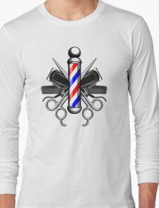 Barber Logo Long Sleeve T-Shirt