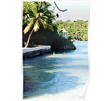 Cliffside Swim Poster
