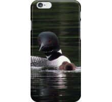 Learning to fish iPhone Case/Skin