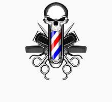 Barbershop Skull Unisex T-Shirt