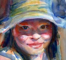 A Portrait A Day 18 - Angel Zhang by Yevgenia Watts